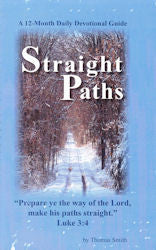 Straight Paths Devotional Vol.1 - Book Heaven - Challenge Press from Mt. Zion Baptist Church