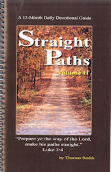 Straight Paths Devotional Vol.2 - Book Heaven - Challenge Press from Mt. Zion Baptist Church