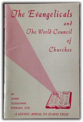 The Evangelicals and The World Council of Churches - Book Heaven - Challenge Press from REVIVAL LITERATURE