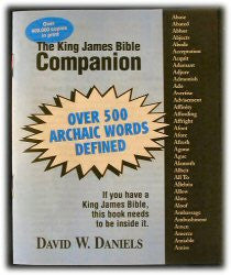 The King James Bible Companion - Book Heaven - Challenge Press from Chick Publications