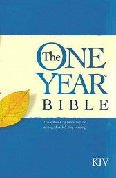 Tyndale The One Year KJV Bible (Paperback) - Book Heaven - Challenge Press from TYNDALE HOUSE PUBLISHERS, INC.
