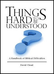Things Hard to be Understood - Book Heaven - Challenge Press from WAY OF LIFE