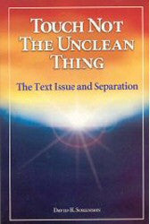 Touch Not the Unclean Thing - Book Heaven - Challenge Press from Northstar Baptist Ministries