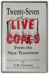 Twenty-Seven Live Coals from the New Testament - Book Heaven - Challenge Press from Greatheart Publishing