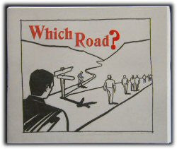 Which Road? (Tract) - Book Heaven - Challenge Press from CHALLENGE PRESS