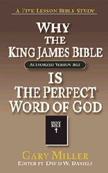 Why the King James Bible is the Perfect Word of God - Book Heaven - Challenge Press from Chick Publications