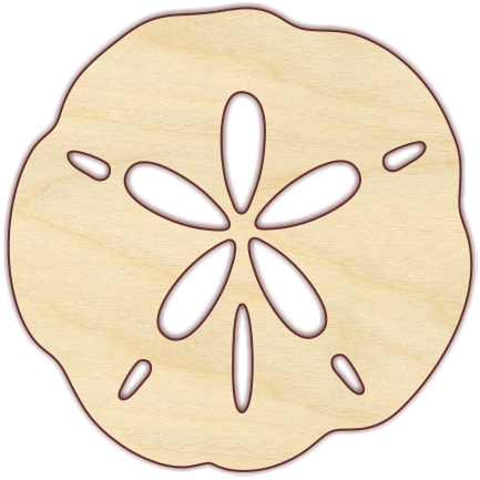 Sand Dollar - The Wooden Hare