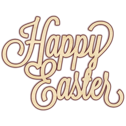 Happy Easter - The Wooden Hare