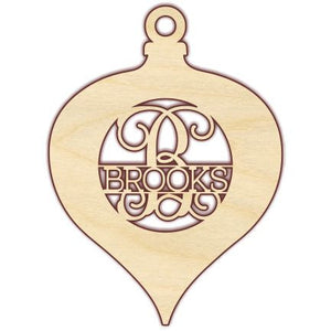 Ornament with Name