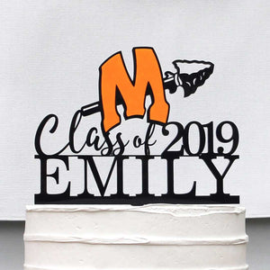 Minooka High School Cake Topper