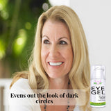 Eye Gel for Dark Circles, Puffiness and Wrinkles