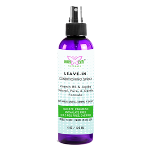 ORGANIC HAIR DETANGLER SPRAY FOR KIDS AND ADULTS - FREE SHIPPING