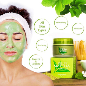 Green Tea Matcha Deep Cleansing Mask
