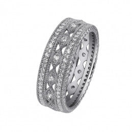 Geometric Designs Ring - Lafonn R0025CLP