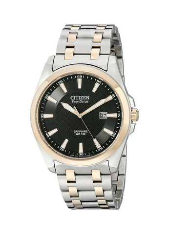 "Citizen Men's BM7106-52E ""Corso"" Eco-Drive Stainless Steel Watch"