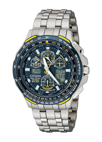 Blue Angels Skyhawk A-T Citizen Watch JY0050-55L