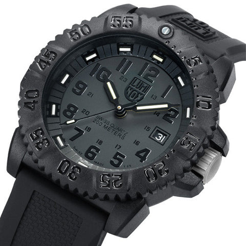 EVO Navy Seal Colormark Series Blackout Luminox Watch A.3051.BO