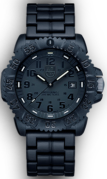 Seal Colormark 3050 Series Blackout Luminox Watch A.3052.BO