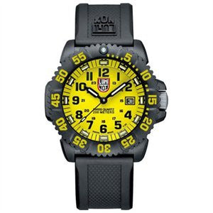 EVO Navy Seal Colormark Series Yellow Luminox Watch A.3055.LM