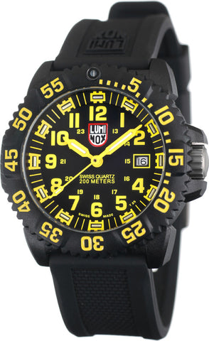 EVO Navy Seal Colormark Series Yellow Luminox Watch A.3055