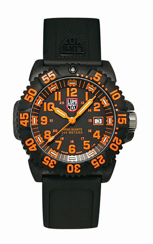 Navy Seal Colormark Series Orange Luminox Watch A.3059