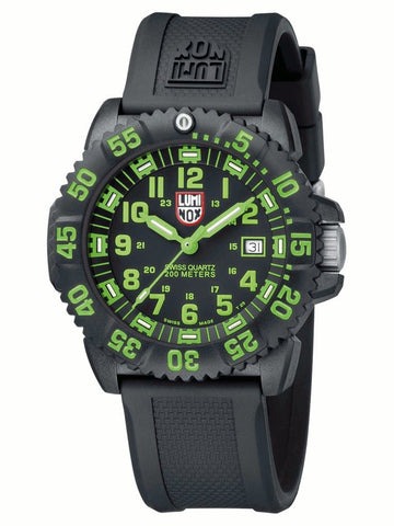 Navy Seal Colormark Series Green Luminox Watch A.3067