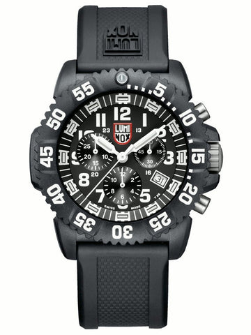 Navy Seal Colormark Chronograph 3080 Series Luminox Watch A.3081