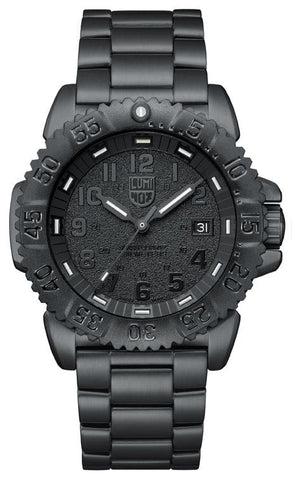 Navy Seal Stainless Steel Colormark 3150 Series Luminox Watch - A.3152.BO