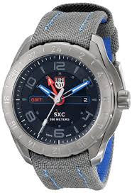 SXC PC Steel GMT 5120 Space Series Luminox Watch A.5121.GN