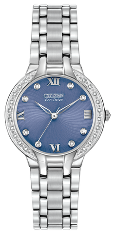 "EM0120-58L Citizen Eco-Drive Women's ""Bella"" Watch With Diamonds"