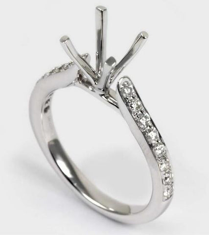 Diamond Engagement Ring - Diadori