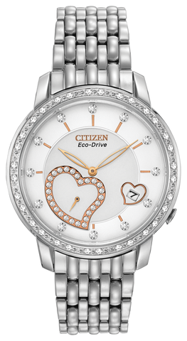 "EV1000-58A Citizen Women's Eco-Drive ""Desire"" Watch With Diamonds"