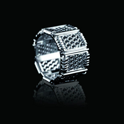 """Fearless"" Cage Ring"