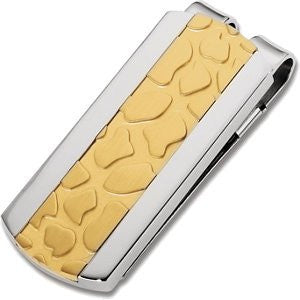 Immerse Plated Inlay Money Clip