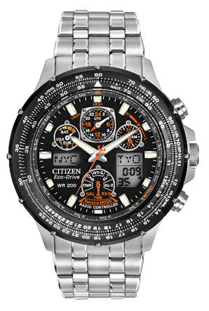 Skyhawk A-T Eco-Drive Watch - JY0000-53E