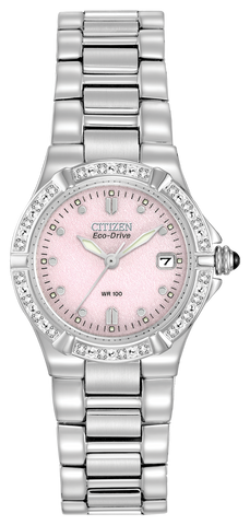 EW0890-58X Citizen Women's Eco-Drive Riva Diamond Accented Watch