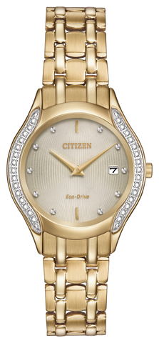 GA1062-51P Ladie's Citizen Eco-Drive Watch Silhouette