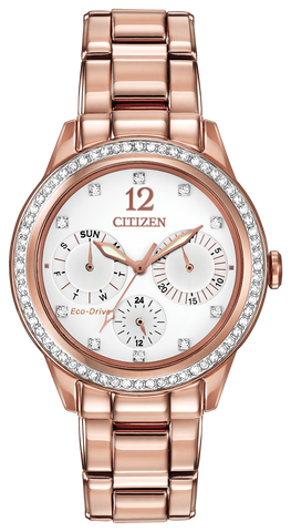 FD2013-50A Citizen Eco-Drive Women's Silhouette Crystal Watch