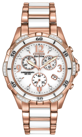 FB1233-51A Ladie's Citizen Eco-Drive Watch Silhouette Diamond Sport