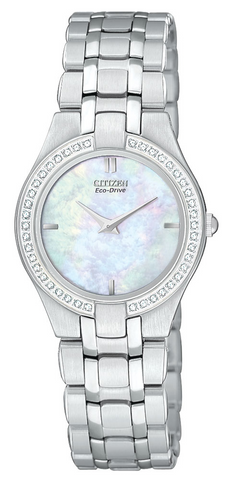 EG3150-51D Citizen Women's Eco Drive Stiletto Diamond Accented Watch