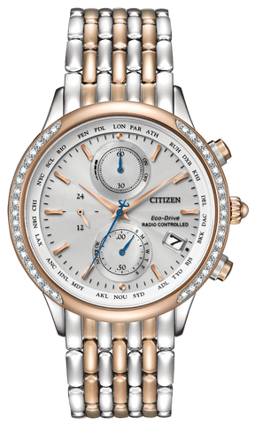 FC5006-55A Citizen Eco-Drive Women's World Chronograph A-T Watch