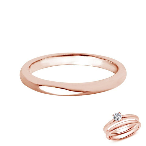 Rose Wedding Band - Lafonn R2007NSR07