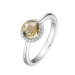 November Birthstone Citrine Ring - Lafonn BR001CTP07