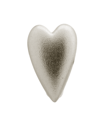 Brushed Heart - Endless Jewelry Sterling Silver Charm 41204