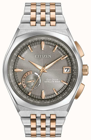 CC3026-51H Citizen Eco-Drive Men's Satellite Wave World Time GPS Watch