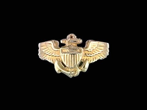 Ladies 14kt Aviator Wing Ring