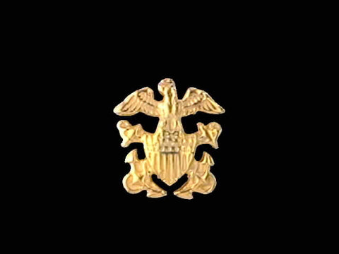 14kt Officer Crest Pin