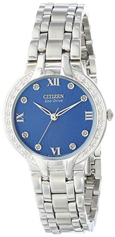 Citizen Eco-Drive Women's EM0120-58L Bella Silver-Tone Watch
