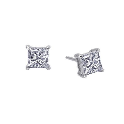 Princess Cut 1.5Ct Stud Earrings - Lafonn E0114CLP00