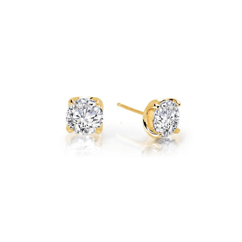 Round 1.6 Ctw Stud Earrings - Lafonn E0103CLG00